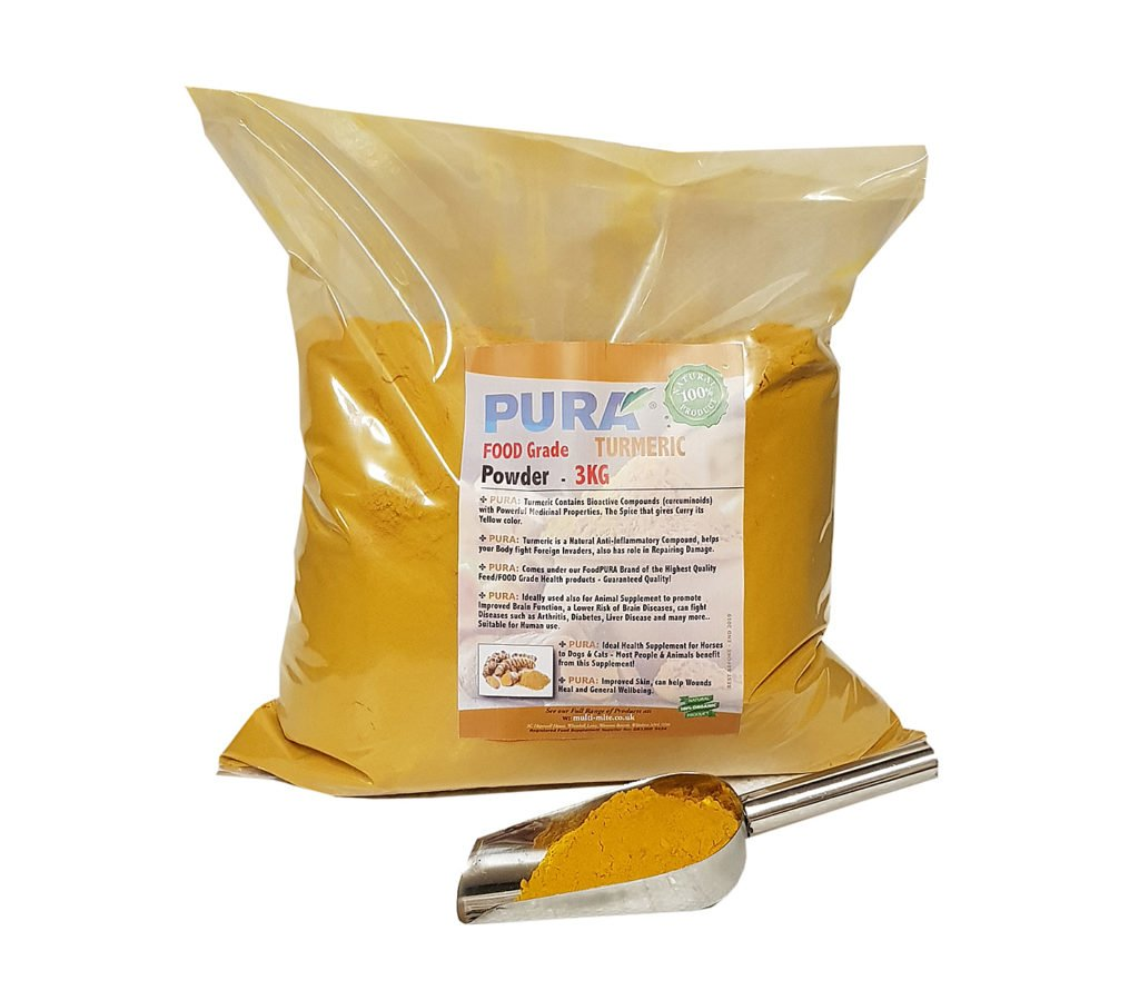 Food PURA® Turmeric Powder 3KG - Buy Diatomaceous Earth
